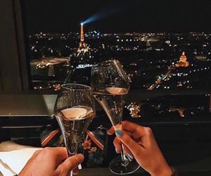 couple, paris, and aesthetic image