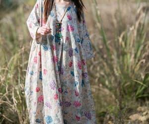 etsy, cotton dress, and long dress image
