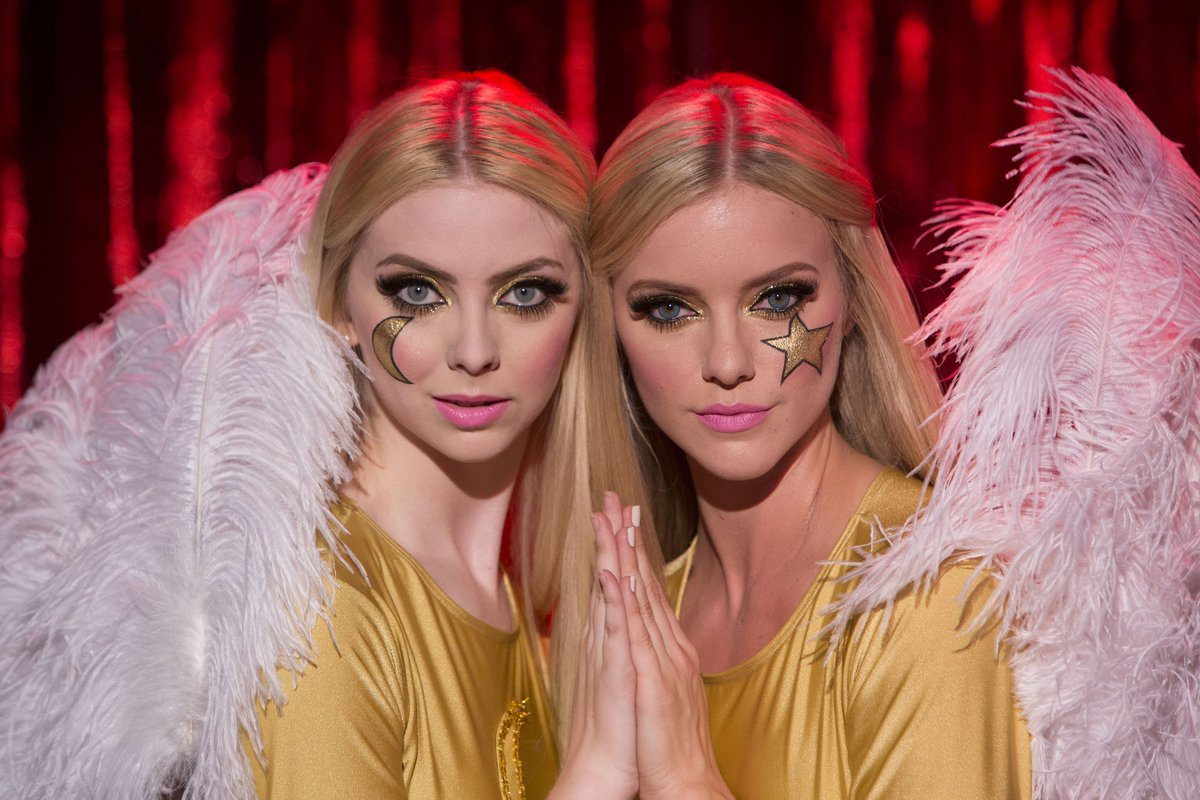 angel, twins, and the love witch image