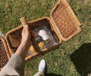 picnic, aesthetic, and green image