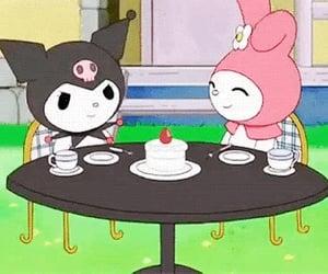 hello kitty, kuromi, and my melody image