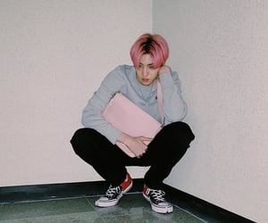 k-pop, pentagon, and wooseok image