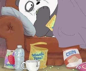 panda and cartoon image