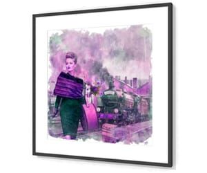 fashion, locomotive, and purple image