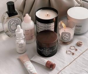 candle, skincare, and self care image