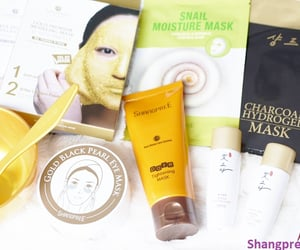 shangpree capsule, shangpree eye cream, and shangpree eye mask image