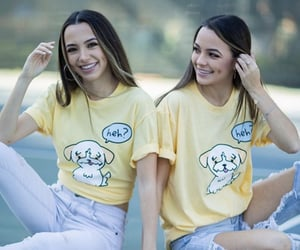 sisters, vanessa merrell, and yellow image