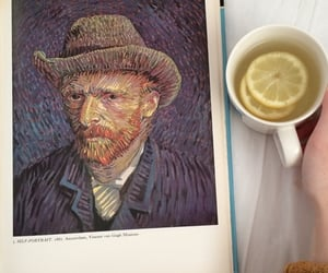 tea, art, and van gogh image