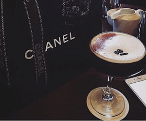 chanel, Cocktails, and coco chanel image