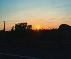 sky, tumblr, and sun image