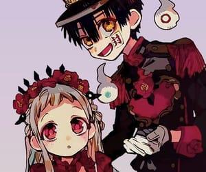 flowers, anime couple, and yugi amane image