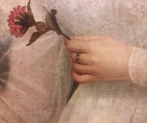 details, flower, and hand image