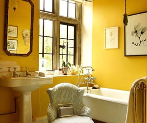 bathroom, decor, and decorating image