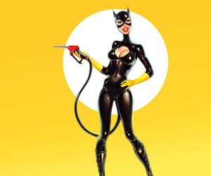 art, batgirl, and pop art image