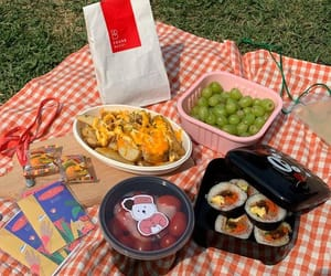aesthetic, picnic, and soft image