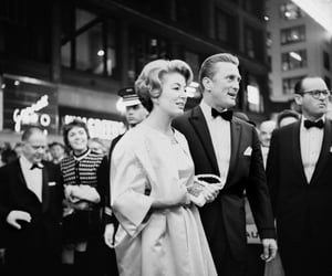 Photo by Vivian Maier. Kirk Douglas at the premiere of the movie Spartacus in Chicago, IL. October 13, 1960