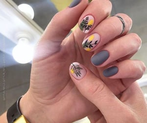 art, nails, and hands image