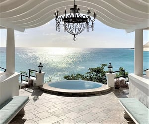 luxury, beach, and travel image