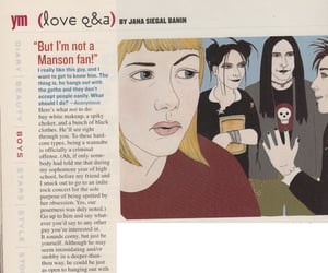 lolz, magazine, and Marilyn Manson image