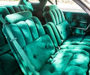 70s, backseat, and cars image