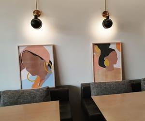 art, artwork, and cafe image