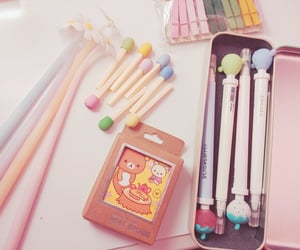 colorful, girly, and korea image