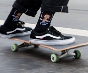 aesthetics, oldschool, and skate image