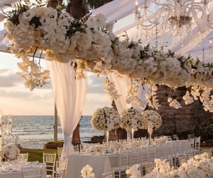 wedding, decorations, and mariage image