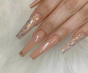 long nails and nail inspo image