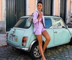 blazer, Fashion girls, and shorts image
