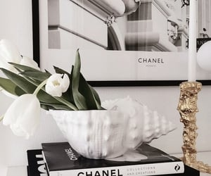 chanel, flowers, and girls image