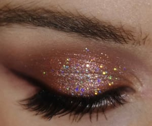 glitter, makeup, and eyeshadow image