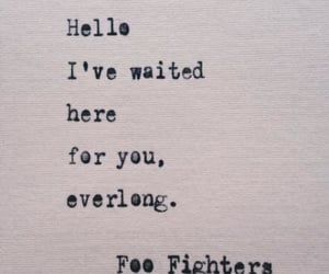 song, words, and foo fighters image