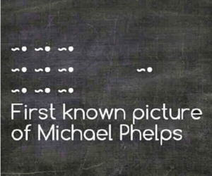 funny, lol, and Michael Phelps image
