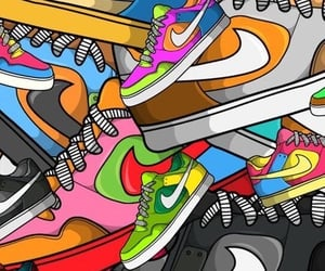 nike, wallpaper, and shoes image