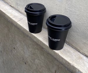 aesthetic, coffee, and black image