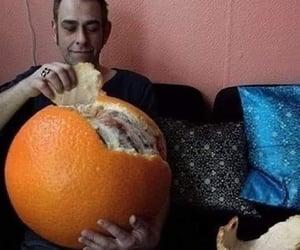 meme and orange image