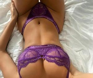 elegance, purple, and love image