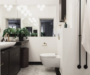 apartment, bathroom, and design image
