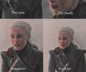 arya stark, sansa stark, and daenerys targeryen image