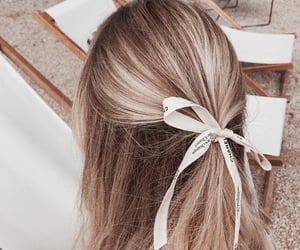 blonde, bow, and chanel image