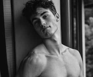 black&white, look, and male model image