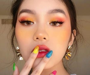 makeup, aesthetic, and colors image