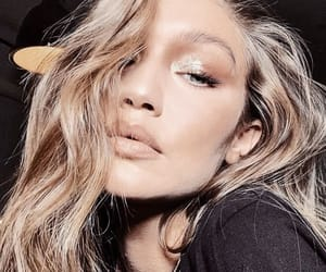 gigi hadid, model, and makeup image