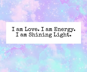 energy, shining, and affirmations image