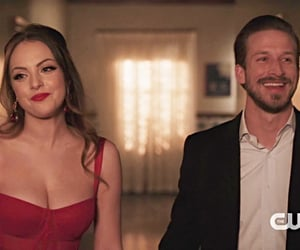 dynasty, liz gillies, and adam huber image