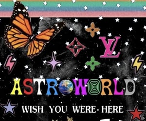 aesthetic, astroworld, and wallpaper image