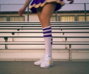 aesthetic, cheerleader, and vintage image