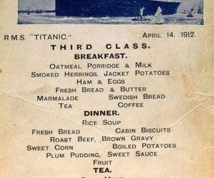 history, vintage, and titanic image
