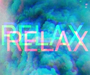 relax and blue image